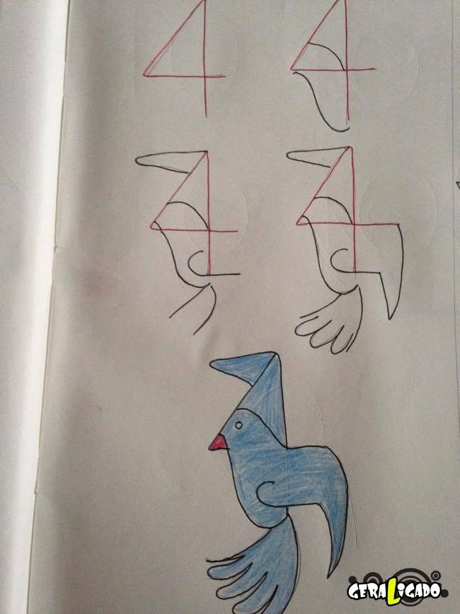 Criando desenhos com numeros 2