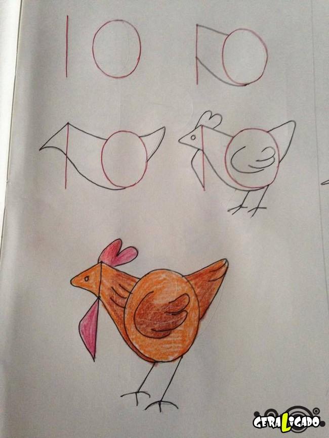 Criando desenhos com numeros 6