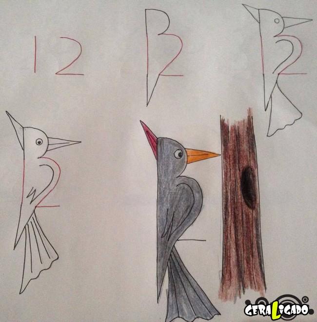 Criando desenhos com numeros