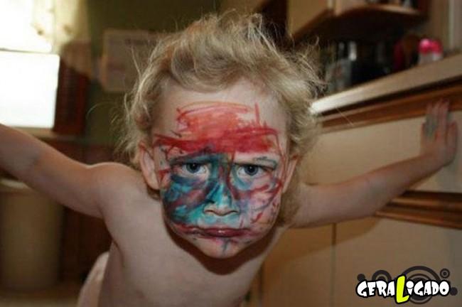 22 fotos de crianças para você se divertir8