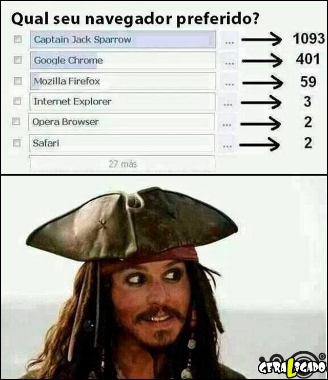 3 Qual navegador preferido