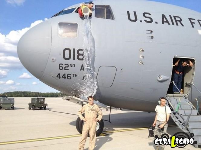40 Fotos militares tiradas no momento certo