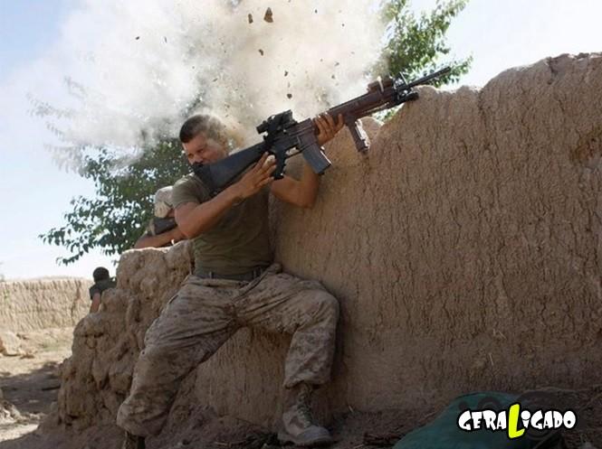 40 Fotos militares tiradas no momento certo12