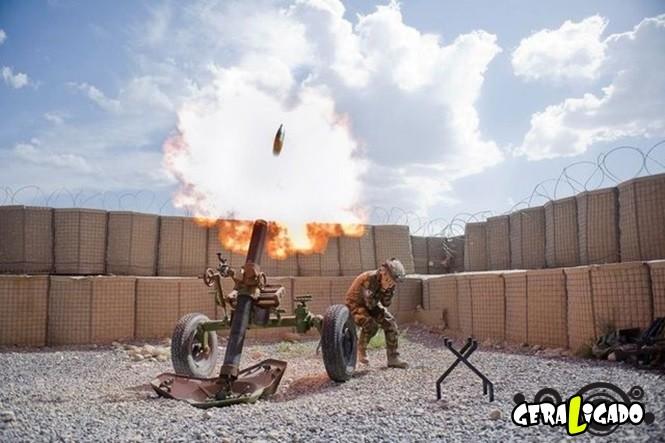 40 Fotos militares tiradas no momento certo14