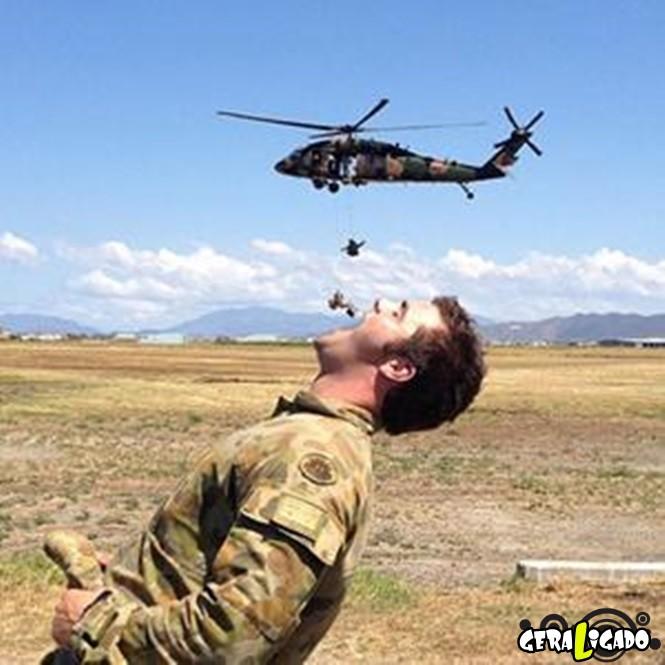 40 Fotos militares tiradas no momento certo2