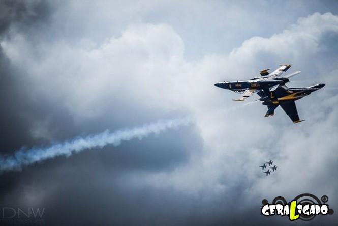 40 Fotos militares tiradas no momento certo25