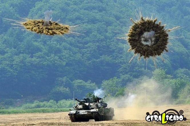 40 Fotos militares tiradas no momento certo6
