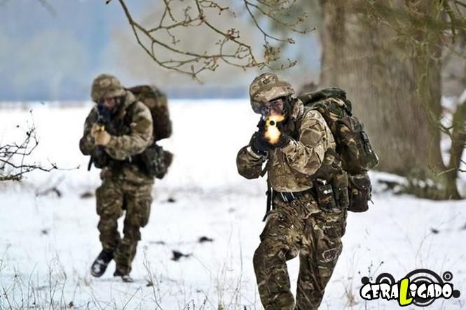 40 Fotos militares tiradas no momento certo9