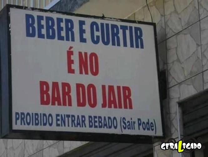 Bares brasileiros com nomes engraçados8