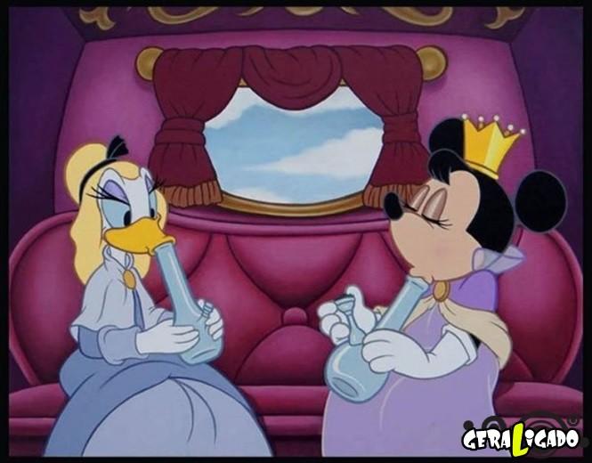Imagens que você nunca irá ver nos desenhos da Disney1,