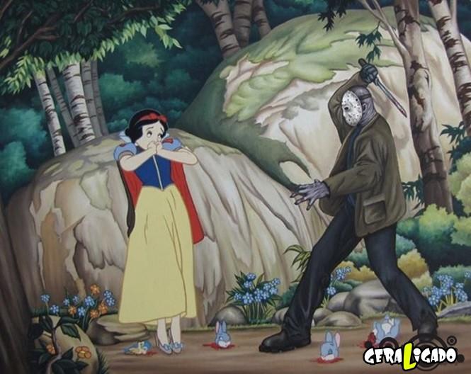 Imagens que você nunca irá ver nos desenhos da Disney13