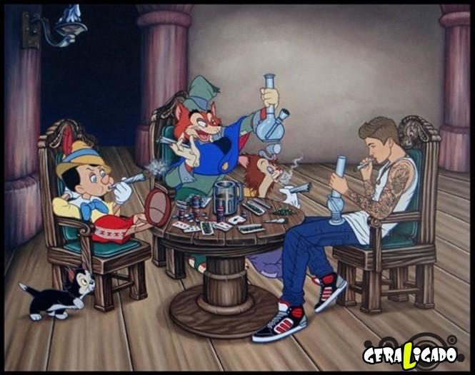 Imagens que você nunca irá ver nos desenhos da Disney18