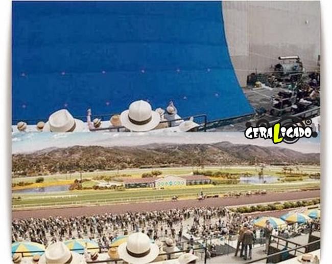Os melhores antes e depois dos efeitos especiais nos filmes6