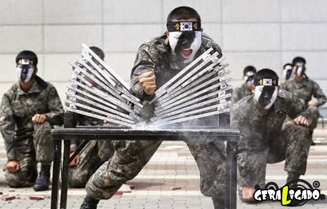 Os países com os treinamentos mais rígidos em forças especiais2