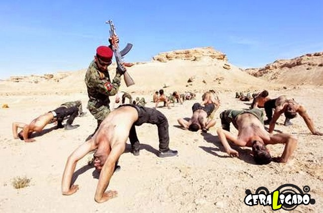 Os países com os treinamentos mais rígidos em forças especiais6