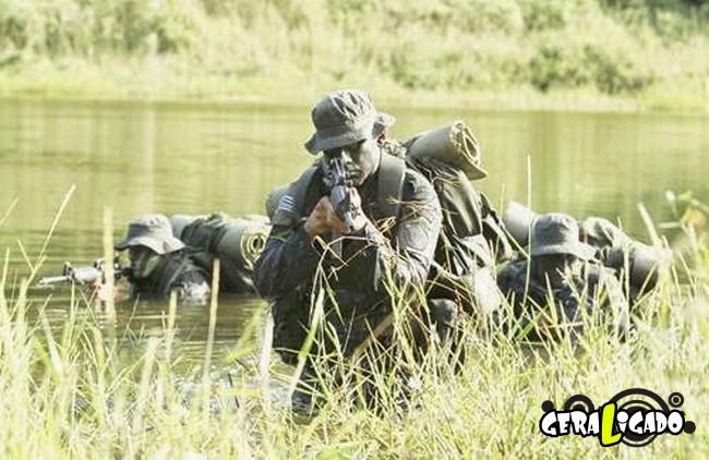 Os países com os treinamentos mais rígidos em forças especiais8