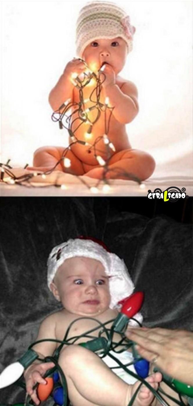 Pessoas que tentaram imitar imagens da internet mas não tiveram muito sucesso13