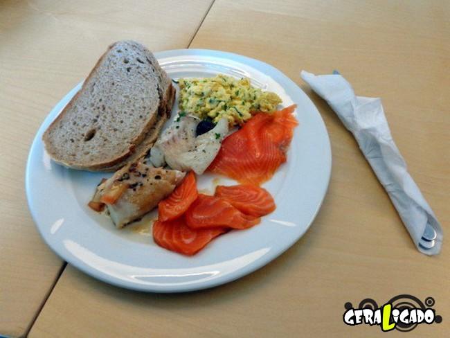 Como é o almoço em algumas partes do mundo