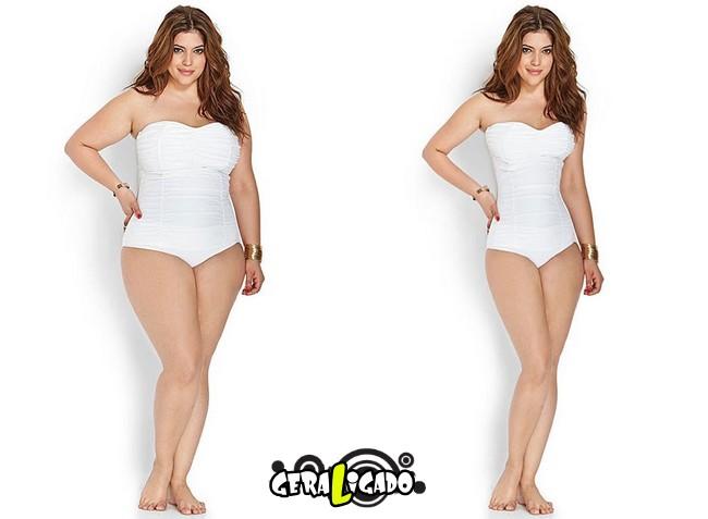 Mulheres incrivelmente emagrecidas pelo Photoshop1