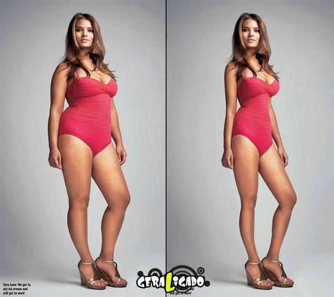 Mulheres incrivelmente emagrecidas pelo Photoshop13