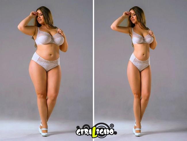 Mulheres incrivelmente emagrecidas pelo Photoshop9