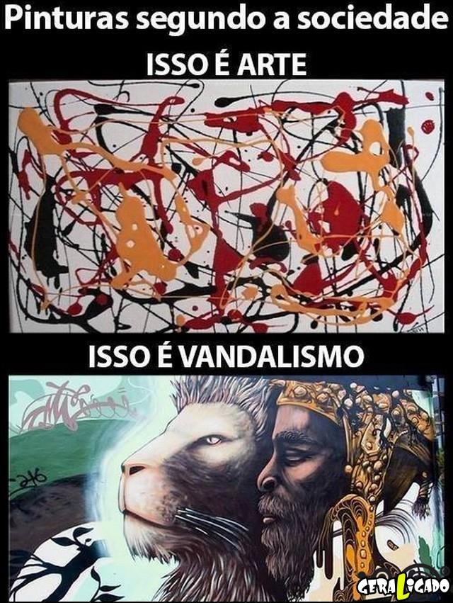 1 A verdadeira arte, não é arte!