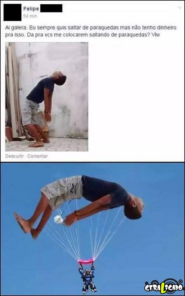 2 Realizando sonhos de paraquedas