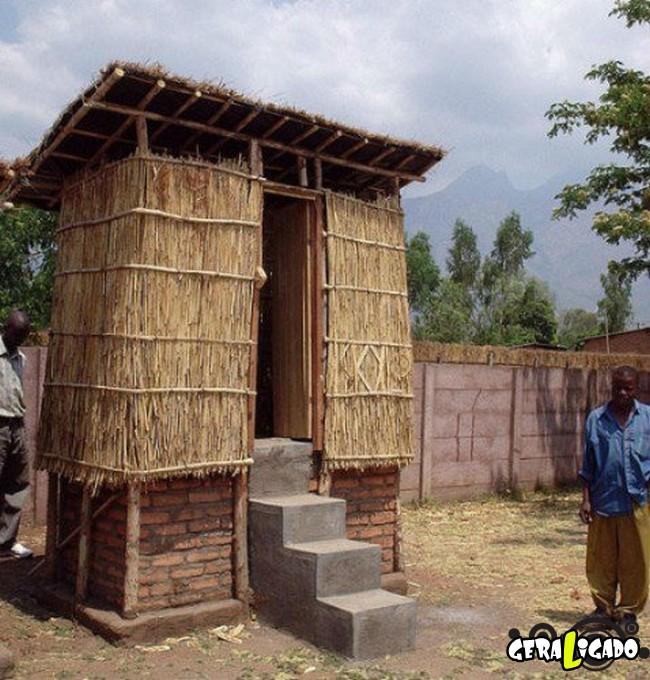Banheiro publicos demonstra como é cada nação.13