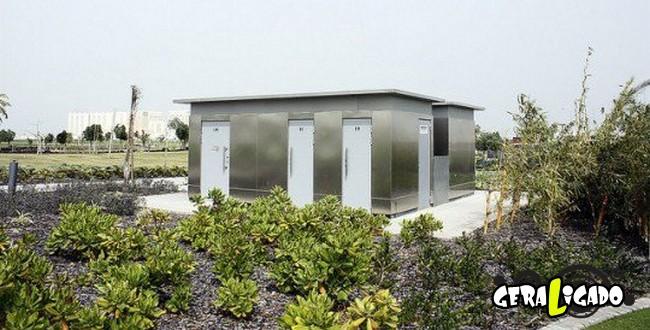 Banheiro publicos demonstra como é cada nação.16