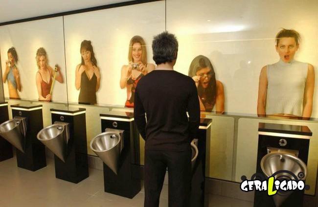 Banheiro publicos demonstra como é cada nação.22