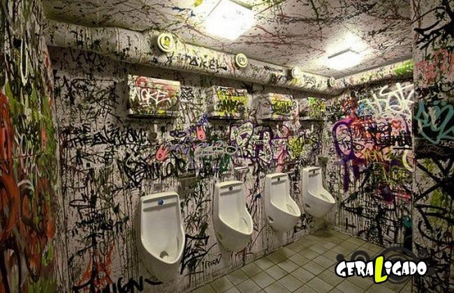 Banheiro publicos demonstra como é cada nação.29