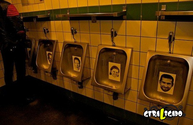 Banheiro publicos demonstra como é cada nação.30