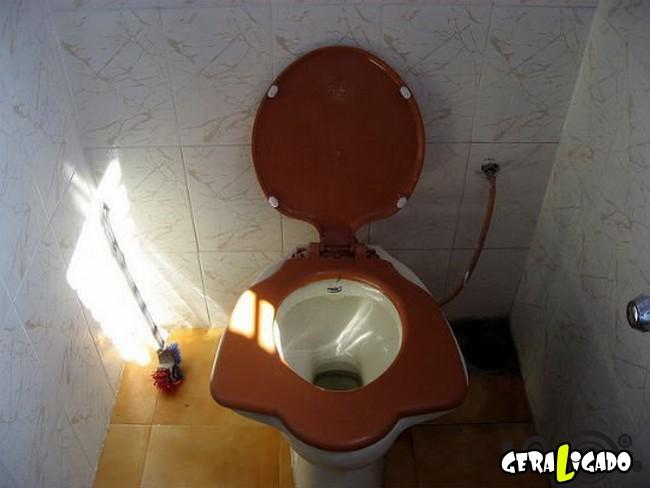 Banheiro publicos demonstra como é cada nação.5