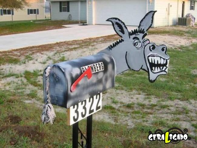 Caixas de correio que você não vai acreditar que existem.13