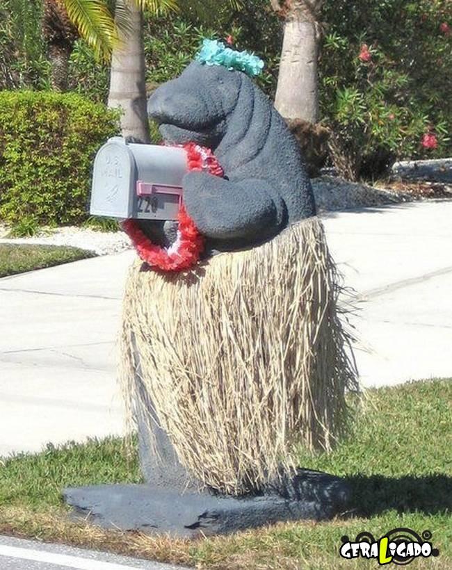 Caixas de correio que você não vai acreditar que existem.7
