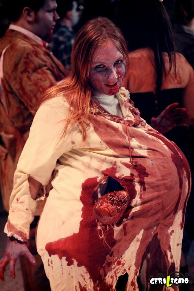 Fantasias e maquiagens incríveis pro Halloween2