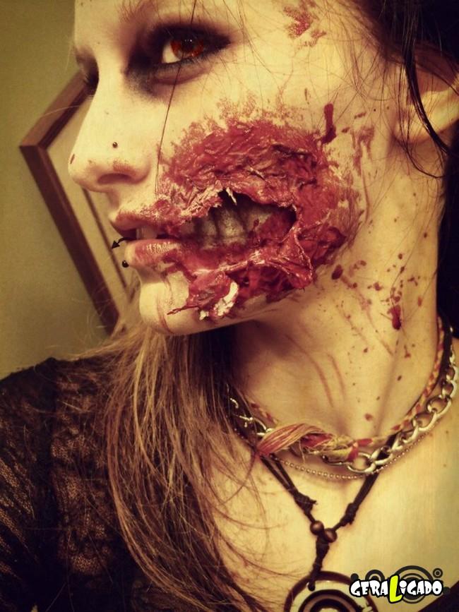 Fantasias e maquiagens incríveis pro Halloween4