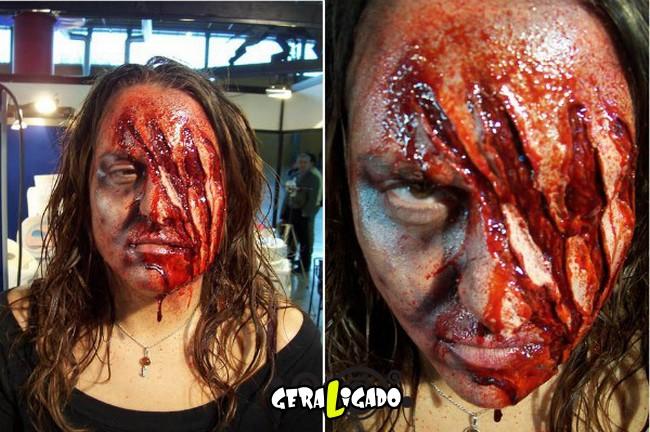 Fantasias e maquiagens incríveis pro Halloween6