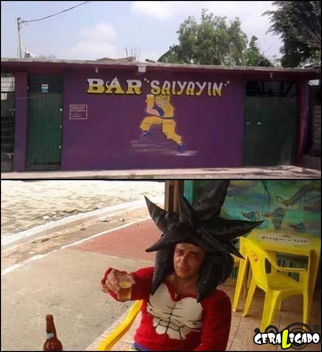 1 Bar da familia do goku