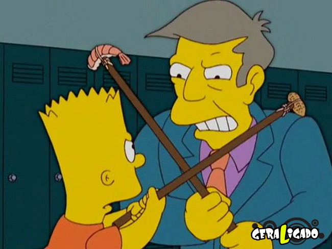 """5 erros em """"Os Simpsons"""" que você nunca notou5"""