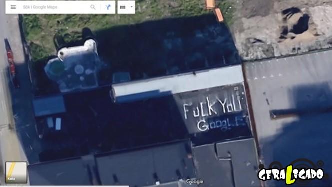 Imagens bizarras do Google Maps1