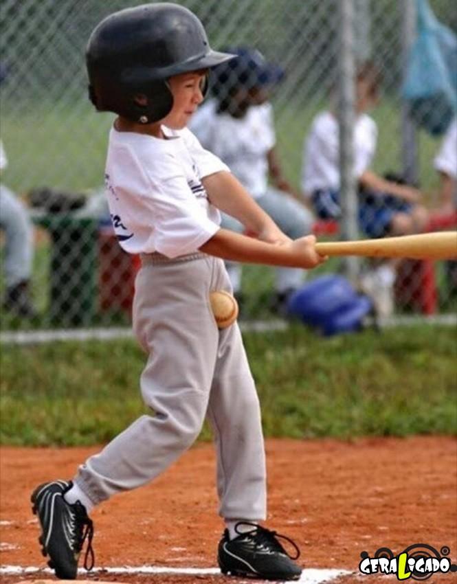 Imagens de crianças que não vieram ao mundo para praticar esportes11