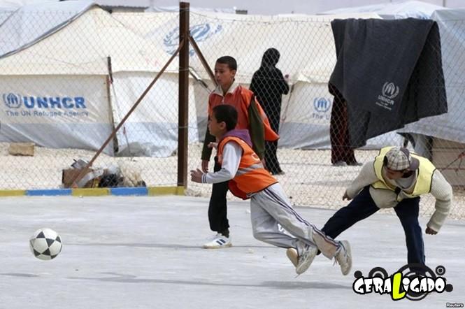 Imagens de crianças que não vieram ao mundo para praticar esportes6