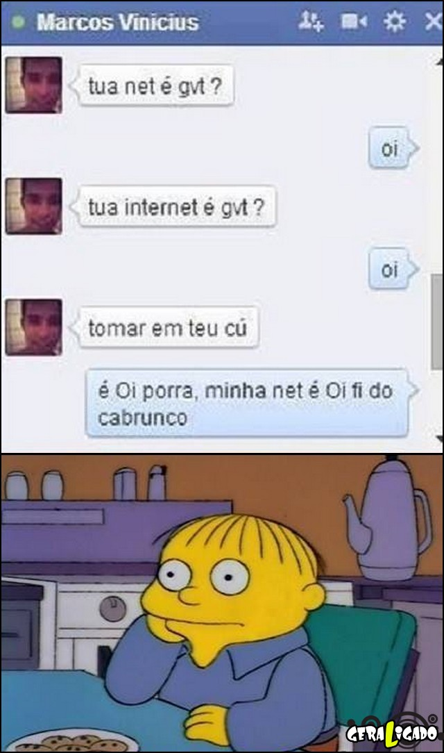 3 Nego é ignorante