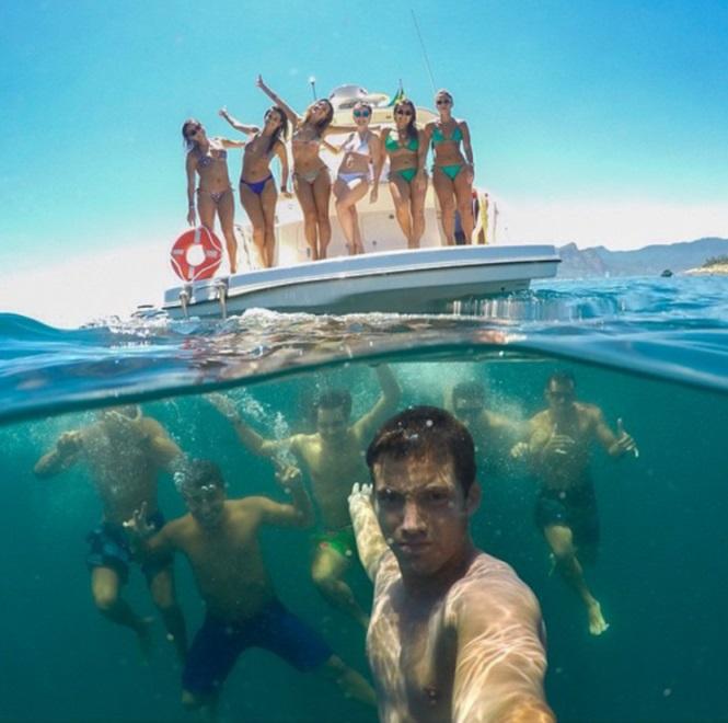 As 15 Selfies mais show de 20156