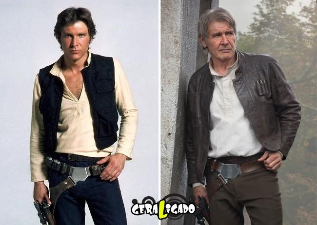 Confira, abaixo, o antes e o depois do elenco de Star Wars1