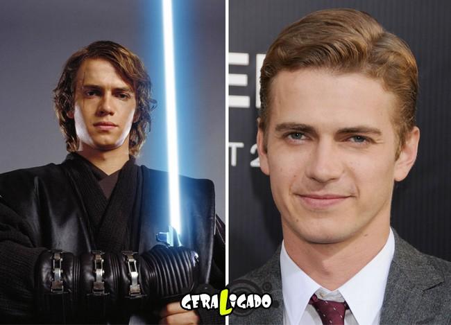 Confira, abaixo, o antes e o depois do elenco de Star Wars10