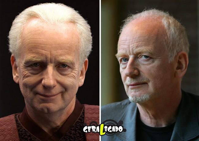 Confira, abaixo, o antes e o depois do elenco de Star Wars14