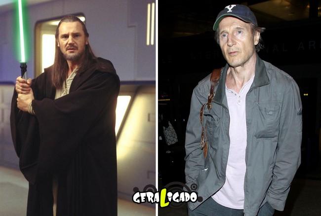 Confira, abaixo, o antes e o depois do elenco de Star Wars16