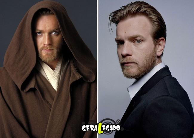 Confira, abaixo, o antes e o depois do elenco de Star Wars2